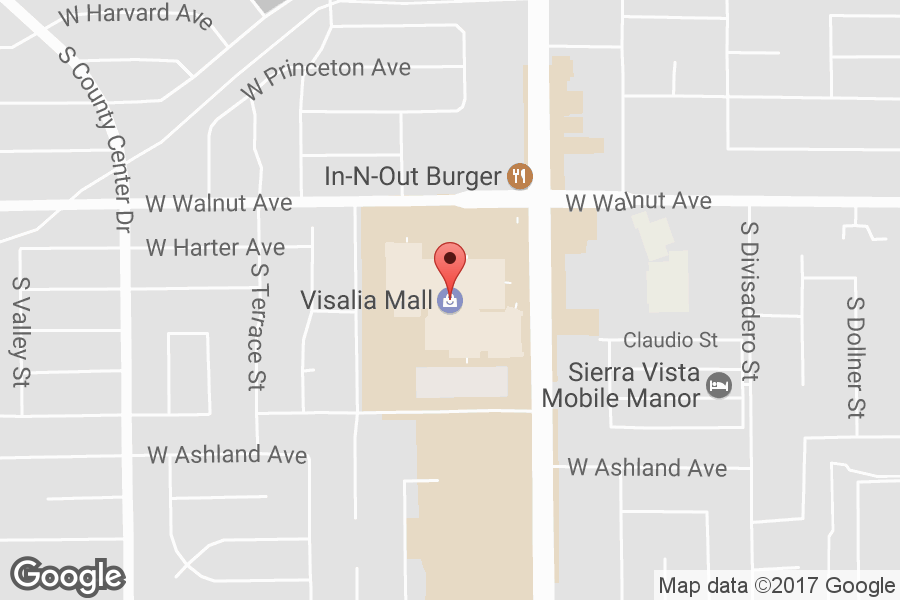 Map of Visalia Mall - Click to view in Google Maps